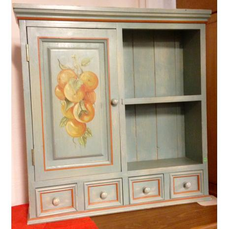 Small Painted Cabinet 1