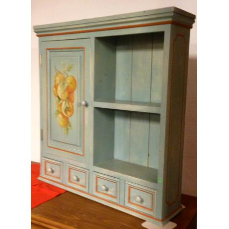 Small Painted Cabinet 2