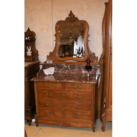 Louis XV Oak Dresser