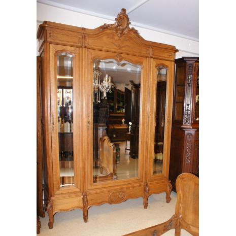 Louis XV Oak Armoire