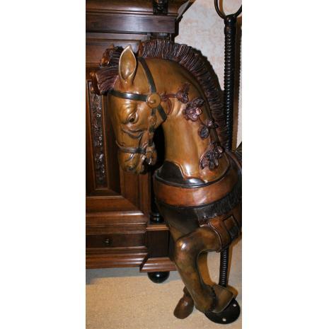 Bronze Horse close-up