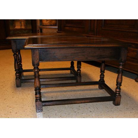 English Oak End Table