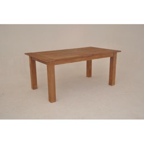Teak Extension Table 180cm closed