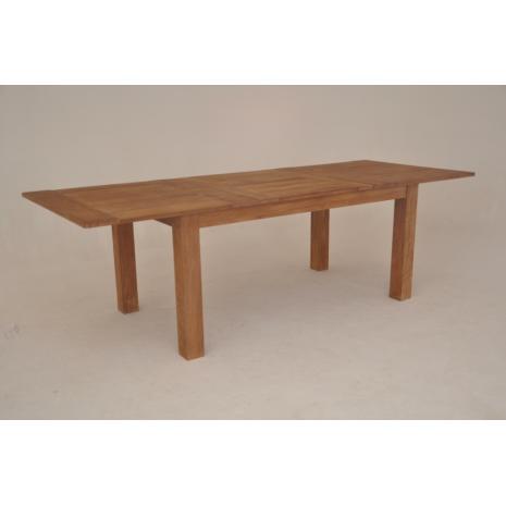 Teak Extension Table 180cm open