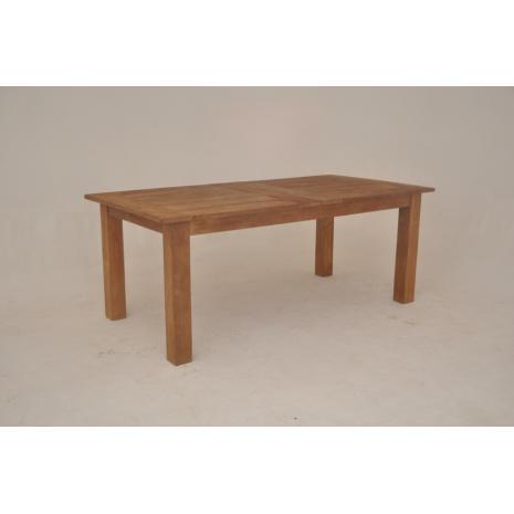 Teak Extension Table 200cm closed