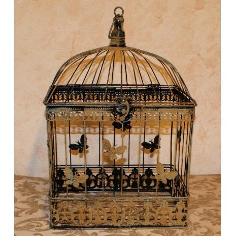 Rectangular Bird Cage