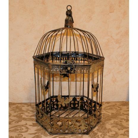 Hexagonal Bird Cage