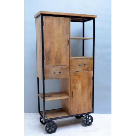 Large Cabinet with Wheels