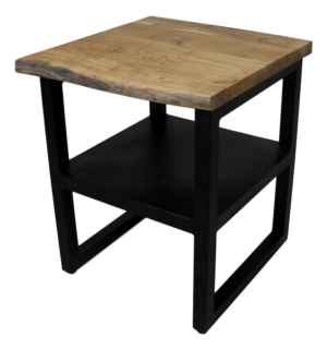 Live-edge Telephone Table