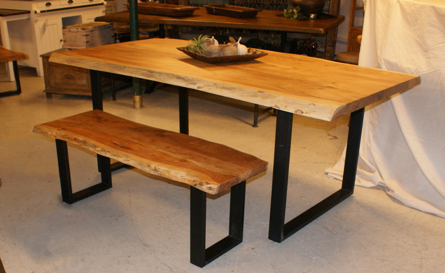 Live Edge Dining Table – Luc's