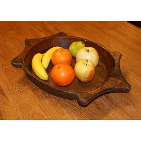 Decorative wWWooden bowl feature picture