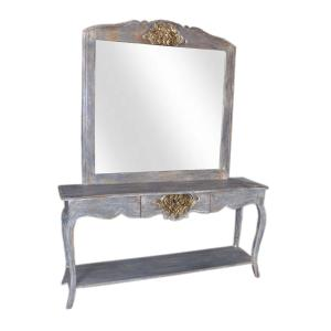 Sideboard with Vanity Mirror