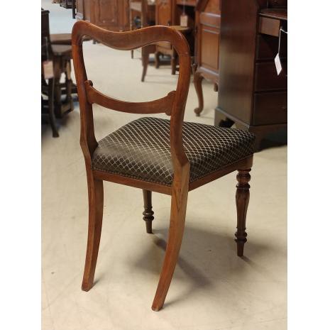 Biedermeier Mahogany Chair