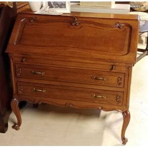 Louis XV Oak Secretary