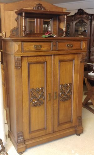 Louis XVI Bread Cabinet