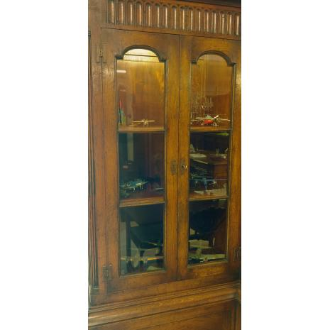 English Oak Country Cabinet