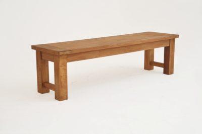 Light Teak Dining Bench