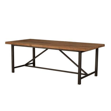 Industrial Teak Table