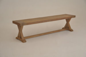 Teak Cross Bench
