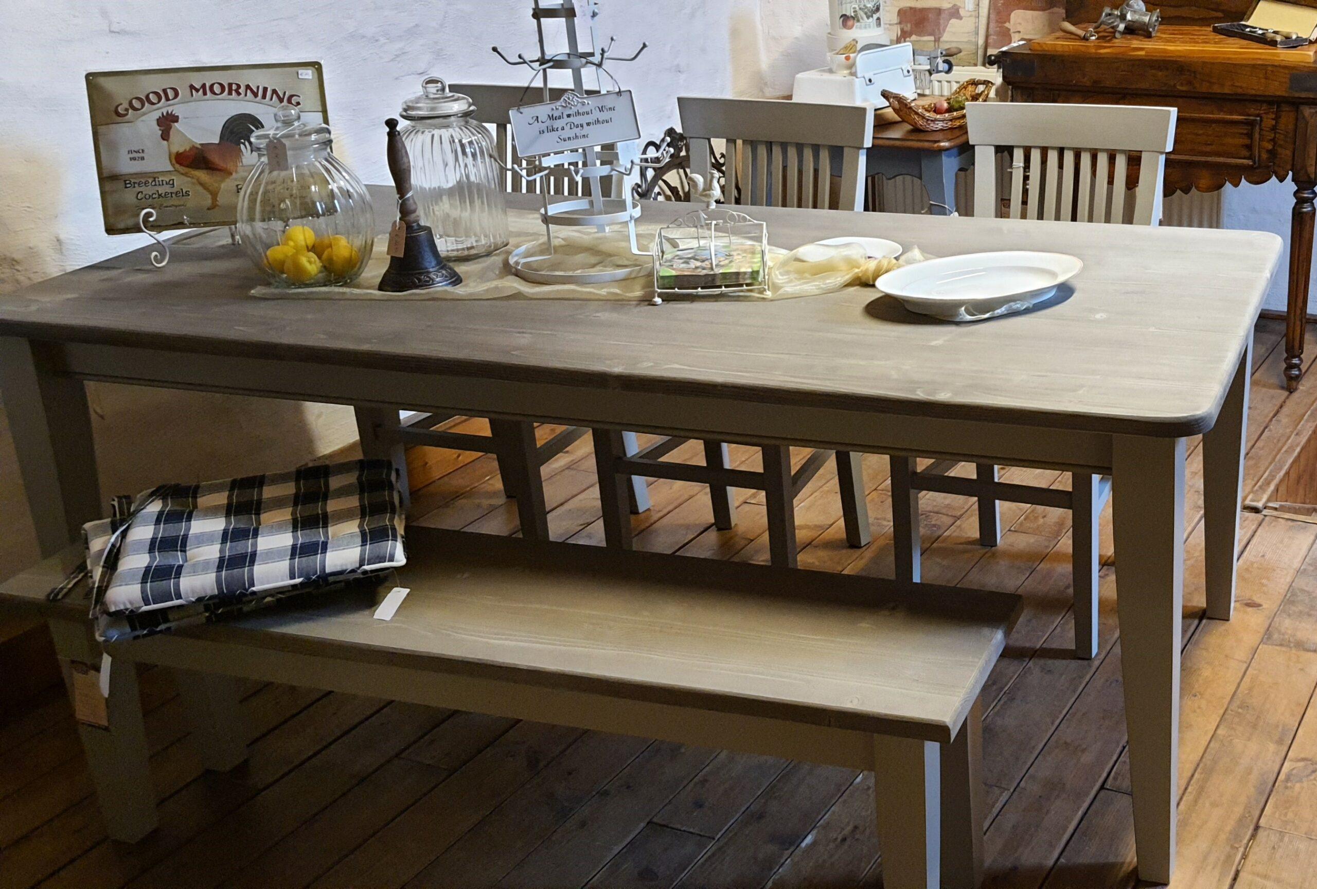Pine Dining Set – Luc's