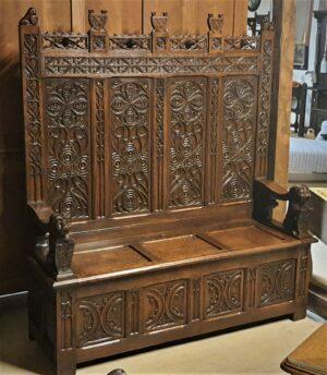 Flemish Renaissance Bench